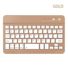 Ultra Slim Wireless Bluetooth Keyboard Portable For iOS Android Phone Tablet PC.