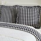 Farmhouse Bedding Jenna Buffalo Check Euro Sham Cotton Buffalo Check image