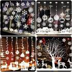 Christmas Snowflake Decals Window Glass Wall Stickers Vinyl Art Xmas Decor Gifts