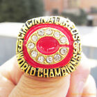1990 Cincinnati Reds Championship Ring Eric Davis World Series Size 11 - Rare on Ebay