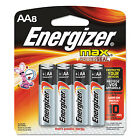 Energizer MAX Alkaline Batteries AA 8 Batteries/Pack E91MP8