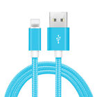 Lot Fast Charge Heavy Duty Braided USB Charger Charging Cable For Smart Phone US