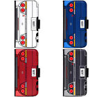 Personalized R33 Initial Name Car Plate Phone Wallet Flip Cover for LG Motorola
