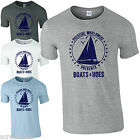 Boats & Hoes T-Shirt - Funny And Humour Step Brothers Movie Unisex Gift Mens Top