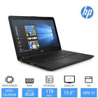 "Best HP Laptop Deal 15-bs506na 15.6"" Display Intel Dual Core 4GB/8GB RAM 1TB HDD"