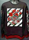 Men's Camp Rose Henny Crew Neck Sweater - Black