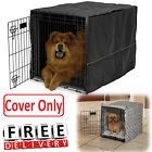 Dog Crate Cover Polyester Kennel Pet Wire 22/24/30/36/42/48 XL Large Comfort