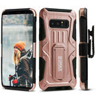 Samsung Galaxy Note 8 Case, UMAX Dual Layer Case with Kickstand & Holster