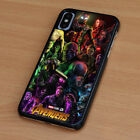 AVENGERS INFINITY WAR 1 iPhone 6/6S 7 8 Plus X/XS Max XR Case Phone Cover