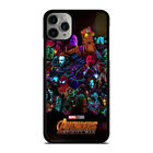 AVENGERS INFINITY WAR 4 iPhone 6/6S 7 8 Plus X/XS Max XR Case Phone Cover
