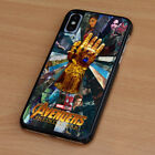 AVENGERS INFINITY WAR 6 iPhone 6/6S 7 8 Plus X/XS Max XR Case Phone Cover