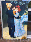 "Oil Paintng-RENOIR REPLICA New/Stretched--24""x36"" ""DANCE IN THE COUNTRY"""