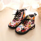 Toddler Girls Boys Crib Shoes Prewalker Soft Sole Sneakers Ankle Boots H4