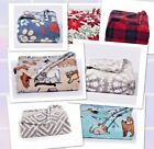 "THE BIG ONE SUPERSOFT PLUSH WARM THROW 60"" x 72"" SUPER SOFT BLANKET - NEW!"