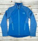 The North Face Soft Shell Jacket New Canyonwall Zip Coat Blue Heather XS S M L