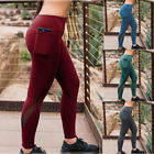 Women Athletic Stretch Leggings Pants Sports Yoga Workout Gym Fitness Trousers
