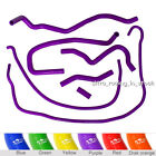 ZAP Purple For Ford Fiesta Mk6 ST 150 2.0L Ancillary Silicone Coolant Hose Pipe