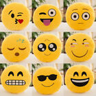17cm Face Emoji Emoticon Pillow Cushion Soft Plush Toy Home Sofa Car Decor Doll
