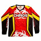 Chaos Kids Off Road Motocross Shirt Red