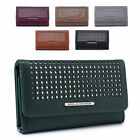 Ladies Faux Leather Laser Cut Purse Girls Fashion Wallet Handbag Clutch M04A-362