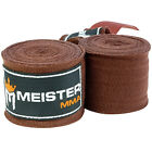 MEISTER 180&quot; SEMI-ELASTIC HAND WRAPS - PAIRS MMA Boxing Mexican Lot ALL COLORS <br/> SALE - BUY MORE &amp; SAVE MORE!   FREE WORLDWIDE SHIPPING!