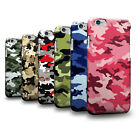 Army Camo Camouflage Pattern 3D Phone Case Cover Skin for Nokia Huawei Asus Vivo