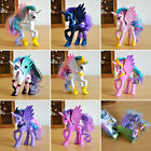 My Little Pegasus Pony Unicorn Rainbow Toys Princess Cadance Luna Figures Gifts