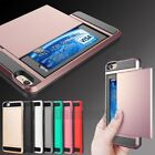 Shockproof Wallet Credit Card Holder Case Cover for Apple iPhone 6 6S 7 Plus ON