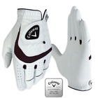 CALLAWAY SYN TECH ALL WEATHER GOLF GLOVE mens left-hand NEW X-SPANN OPTI-FIT