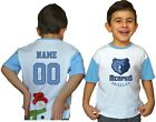 Memphis Grizzlies Kids Tee Shirt NBA Personalized New Youth Unisex Jersey Gift on eBay