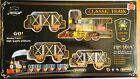 Classic Train 20 Piece Set For Chirstmas: Sound, Lights, Smoke, Tracks Included