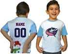 Columbus Blue Jackets Kids Tee Shirt NHL Personalized Hockey Youth Jersey Gift $11.95 USD on eBay