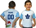 Toronto Maple Leafs Kids Tee Shirt NHL Personalized Hockey Youth Jersey Unisex $11.95 USD on eBay