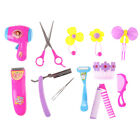 Baby Kid Girl Pretend Play Barber Tool Set Accessories Toy Kid Beauty MakeuB1IS