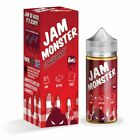 US Jam Monster- Vape1 juice All Flavors 100ml - 0mg 3mg 6mg All Flavours