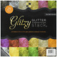 DCWV The Glitzy Glitter Cardstock Stack 12 in x 12 in 24 sheets total 6 solid of