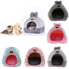 Pets Dog Cat Bed House Kennel Doggy Winter Warmer Cushion Basket