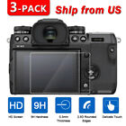 3x Tempered Glass Screen Protector for Fujifilm X-T100 X-H1 X-T3 X-T20 X-T10 XA3