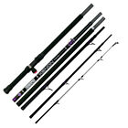"Tronix Pro NEW Xenon Travel Beach / Surf Fishing Rod 12ft 6"" - 6PC"