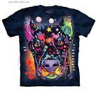 Doberman T-Shirt / Tie Dye Tee,Rainbow Dog Graffti,Doberman Pinscher,Dean Russo