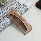 Natural Wide Tooth Peach Wood Healthy No static Massage Hair Wooden Comb Tool BH