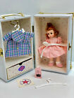 "MADAME ALEXANDER DOLL 8"" Trunk Set MADC 1996 w/extras"