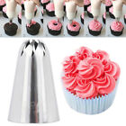 Stainless steel Flower Spiral Icing Piping Tips Nozzle Cake Cupcake Pastry Tool