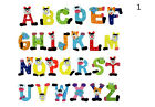 26 Pcs Wooden Alphabet Fridge Magnets Baby Early Childhood Toys For Children BH