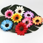 8cm Sunflower 10-50 piece Artificial Silk Heads Bulk Flowers Wedding Party Decor