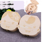 Wooden Kids Baby Tooth Box Organizer Milk Teeth Wood Storage Box for Boy or Girl