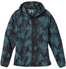 Second Skin Women's Printed Packable Lightweight Full Zip Jacket - NWT