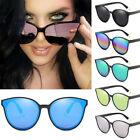 Women Men Black Vintage Cat's eye Fashion Sunglasses Retro