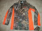 UNDER ARMOUR New NWT Boys Youth Kids Camo Camouflage Realtree Jacket Coat 5 6