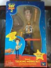 Toy Stoy 2 WOODY Talking Model Kit Action Figure Pixar Thinkway 100% Complete
